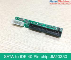 Card chuyển đổi ổ cứng HDD SATA sang IDE (ATA) 40pin chip JM20330