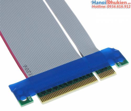 Dây cáp Riser PCI-E 8X đầu đực - đầu cái cho PC, Server