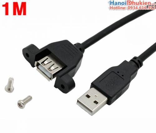 Cáp nối dài USB 2.0 đầu bắt vít 1M