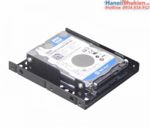 Khay gắn ổ cứng HDD, SSD 2.5 vào máy tính bàn PC loại 2 khay