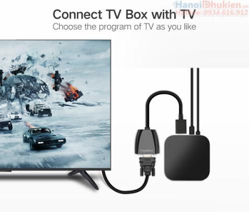 Cáp chuyển đổi HDMI sang VGA Ugreen 40253 chính hãng