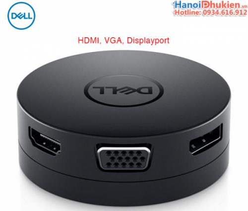 DELL DA300 USB-C Mobile Adapter 6 in 1 HDMI, VGA, DP, LAN, USB 3.1, USB-C