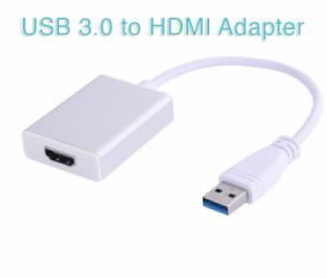 Cáp chuyển đổi USB 3.0 sang HDMI, mở rộng thêm 1 màn hình phụ cho PC, Laptop
