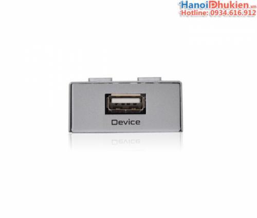 Bộ chia máy in tự động 2 máy tính chung 1 máy in, scan Auto sharing switch