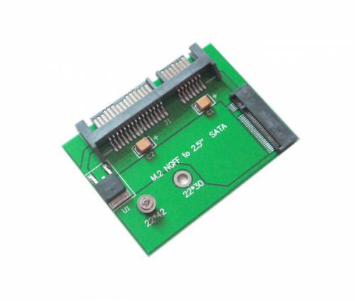Adapter SSD M2 SATA NGFF 2242 to SATA kích thước nhỏ gọn