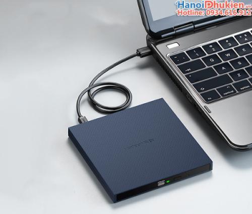 Ổ đĩa quang DVD cắm cổng USB cho Laptop, Macbook Ugreen 40576