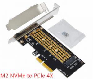 Card chuyển SSD M.2 PCIe NVMe sang PCIe 4X 16X hãng SSU
