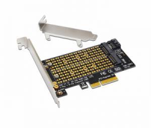 Card gắn ổ cứng M2 SATA, M2 NVMe vào máy tính bàn PC, máy tính đồng bộ