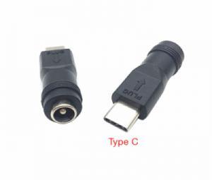 Giắc nguồn DC chân tròn sang USB Type C