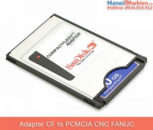 Adapter thẻ nhớ CF to PCMCIA cho máy CNC Fanuc