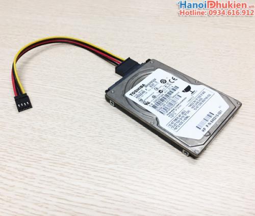 Cáp nối nguồn 4Pin Mainboard ra SATA cho HDD, SSD