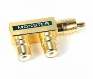 Giắc chia AV RCA 1 ra 2 Monster