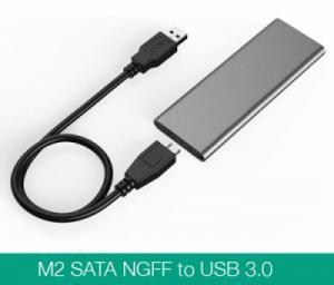 Box ổ cứng SSD M.2 sang USB 3.0 vỏ nhôm nhỏ gọn
