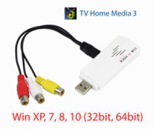 USB ghi hình AV (RCA) cho DVD, máy siêu âm, nội soi.