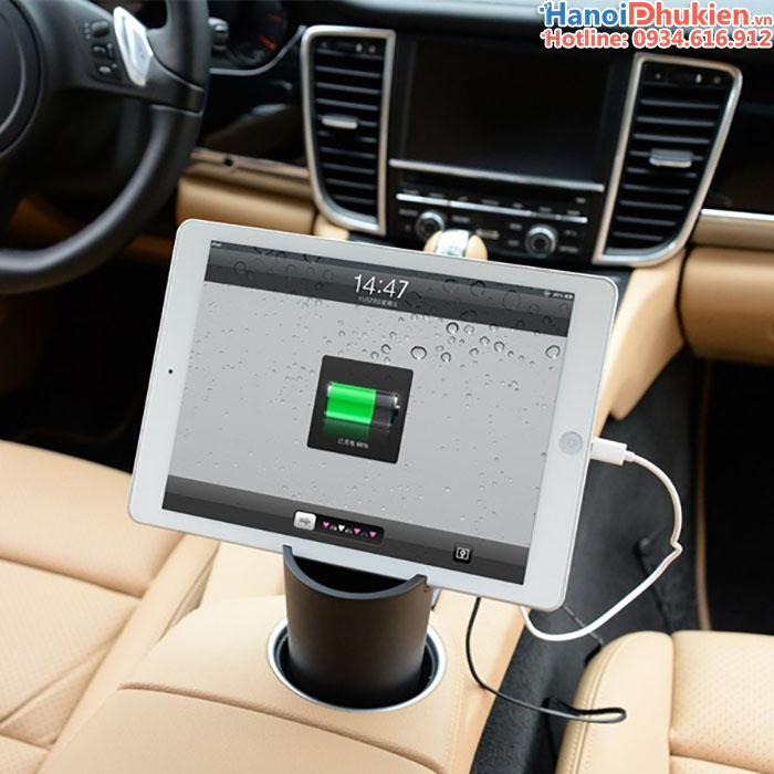Sạc 12V trên ô tô 3 x USB 2.4A Orico UCH-C1