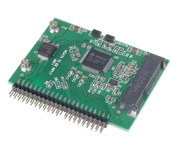 Adapter chuyển đổi SSD mSATA to IDE 2.5 inch 44pin