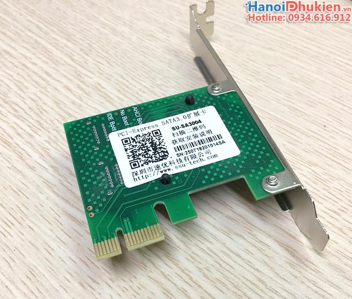 card mở rộng PCI-e to 4 SATA 6Gb SSU SA3004