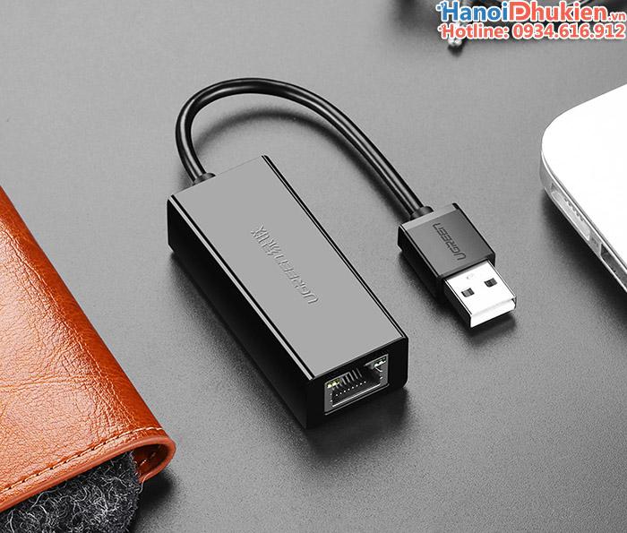 Adapter chuyển đổi USB sang LAN chính hãng Ugreen