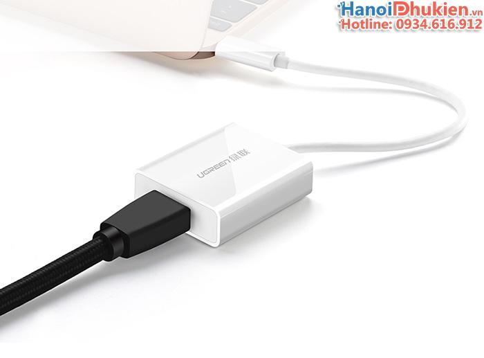 Cáp USB Type C sang HDMI Ugreen 40273 hỗ trợ 4K