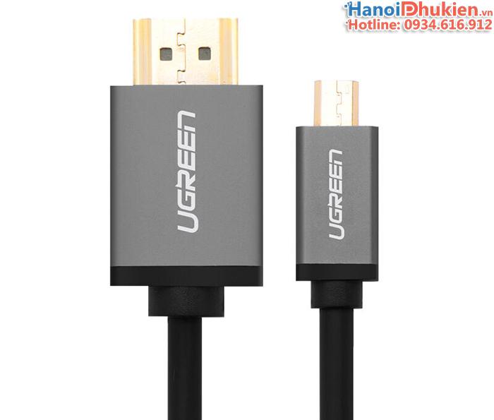 Cáp chuyển đổi Micro HDMI sang HDMI 2M Ugreen