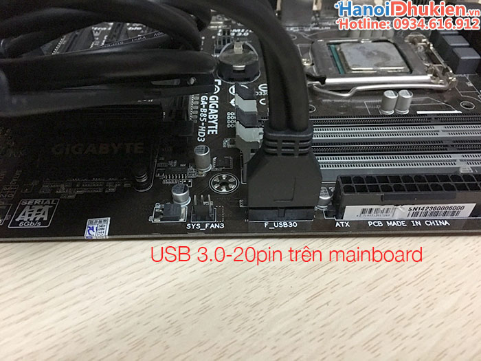 USB 3.0 2Port Front Panel with 20Pin