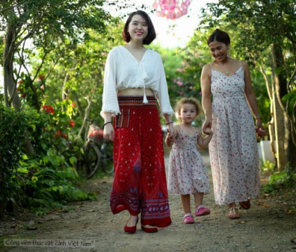 Ngày hội 'Nắng Thu Tháng 8' tại công viên thực vật cảnh Việt Nam