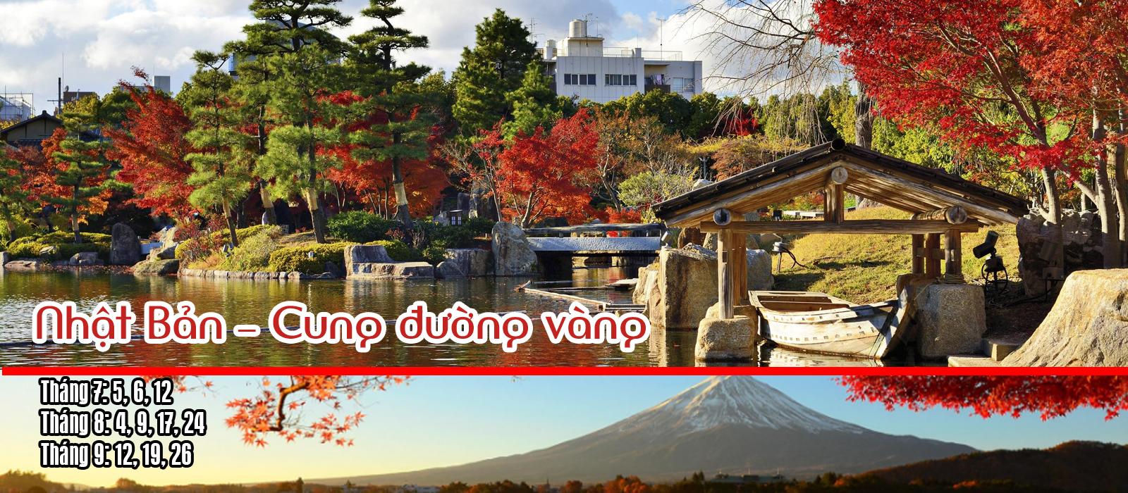 Nhật cung đường vàng