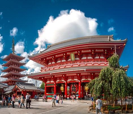 TOKYO – NÚI PHÚ SĨ – NAGOYA - KYOTO - OSAKA (Air Macau)