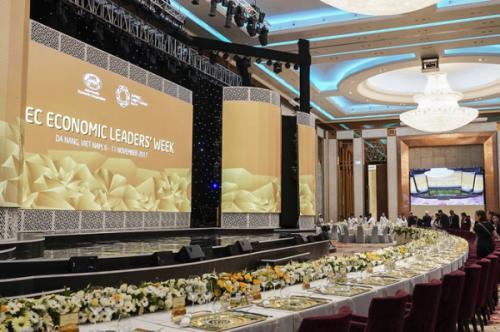 Du lịch Việt Nam: Bát đĩa trong tiệc chiêu đãi lãnh đạo kinh tế APEC 2017