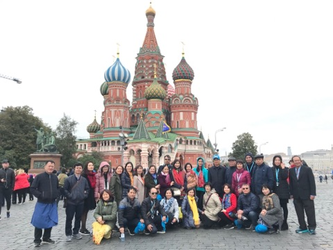 LIÊN MINH GREAT RUSSIA 2019