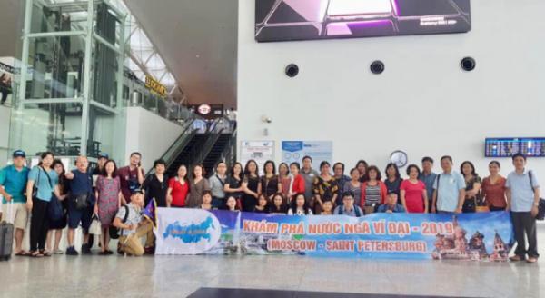Đoàn Thái Lan chưa hết sầm uất, thì Đoàn Nga ra quân cũng hàng trăm khách đã phản hồi rất yêu thương về dịch vụ của Haseco Travel.  Chúng tôi cảm ơn những tình cảm nồng hậu của quý khách.  Động lực ngày một lớn để đáp lại sự tin tưởng hàng giờ hàng ngày của quý kh�
