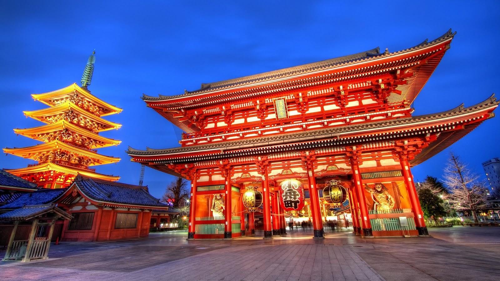 Ngôi đền Asakusa