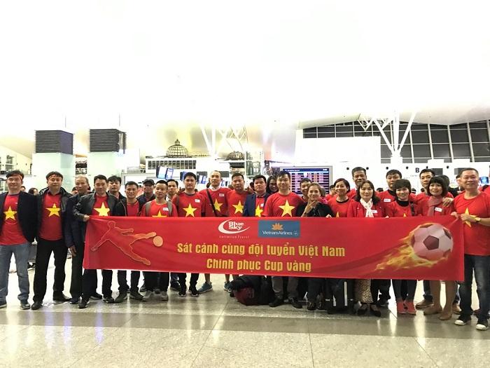 Blue Sky sát cánh cùng đội tuyển Việt Nam tại Chung kết AFF Cup 2018