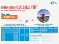 Blue Sky triển khai chính sách SIÊU ƯU ĐÃI dành cho khách đi Nhật Bản, Đài Loan