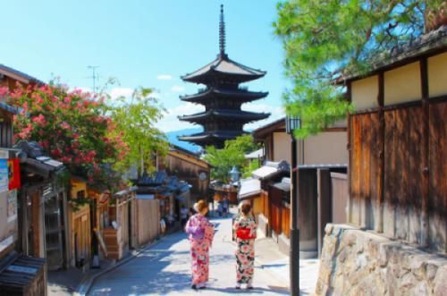 Mê hoặc vẻ đẹp cổ kính của cố đô Kyoto xinh đẹp
