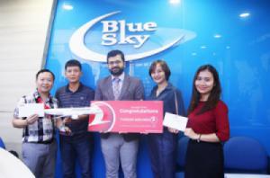 Blue Sky là đại lý có thành tích tốt nhất của Turkish Airlines