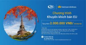 Ưu đãi HOT từ Blue Sky Việt Nam: Tặng thêm 2.000.000 đồng/vé khứ hồi châu Âu