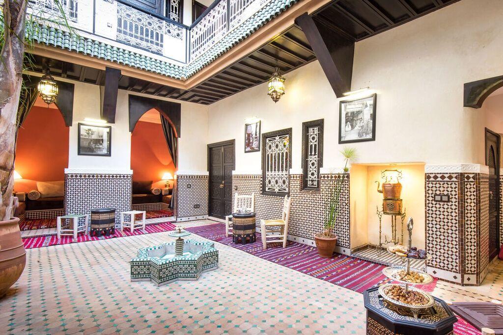 Có gì đặc biệt trong những ngôi nhà truyền thống Riad của người Maroc?