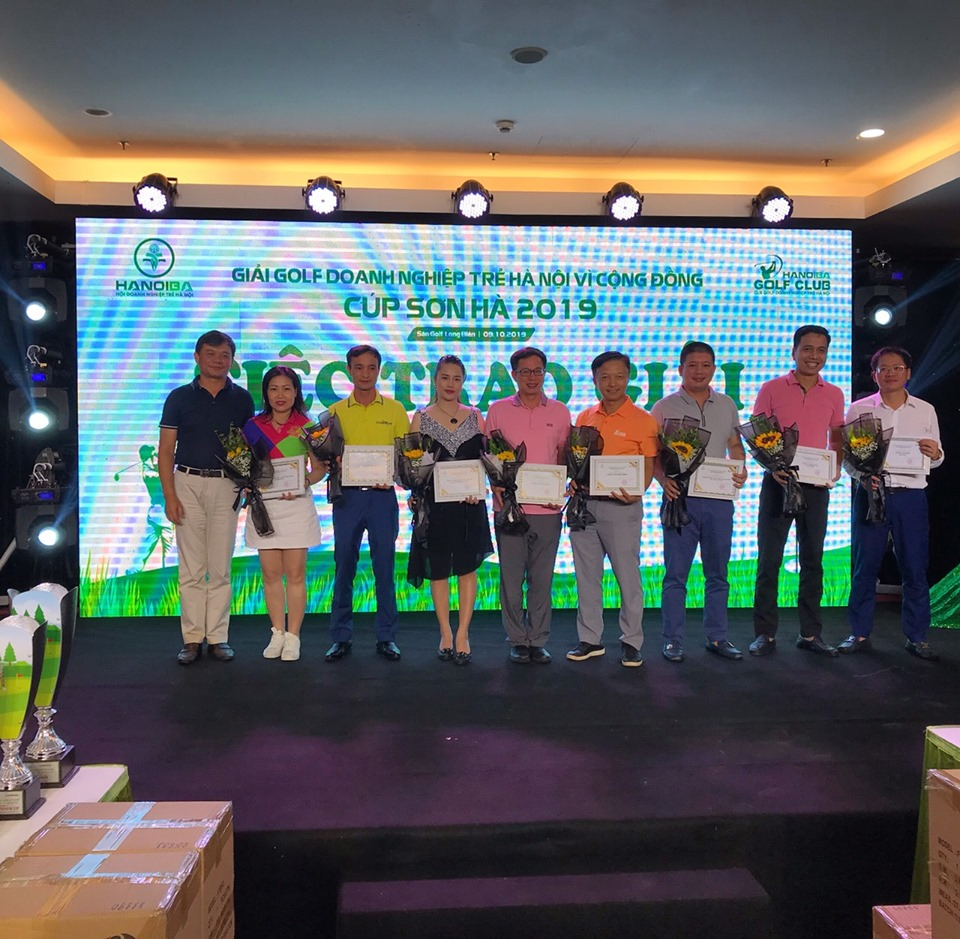 Blue Sky Việt Nam đồng hành cùng giải Golf Doanh nghiệp trẻ 2019