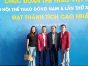 Blue Sky Việt Nam hân hoan tiễn đoàn thể thao Việt Nam tham dự SEA Games 30