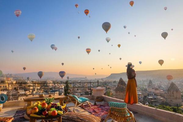 Bay trên Cappadocia để cảm nhận một Thổ Nhĩ Kỳ đầy huyền bí