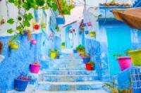 Lạc lối ở Chefchaouen - thị trấn mang màu xanh mê hoặc của Maroc