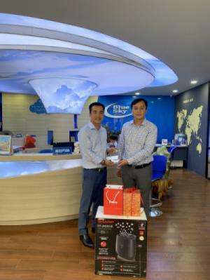 Blue Sky Việt Nam vinh dự nhận giải thưởng Đại lý XUẤT SẮC NHẤT Sabre năm 2019