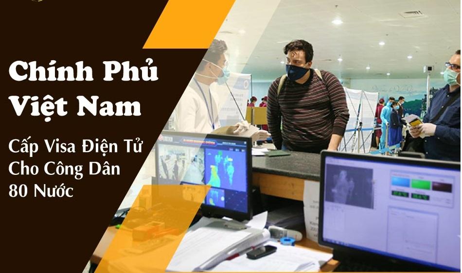 Việt Nam cấp thị thực điện tử cho công dân 80 nước trên thế giới