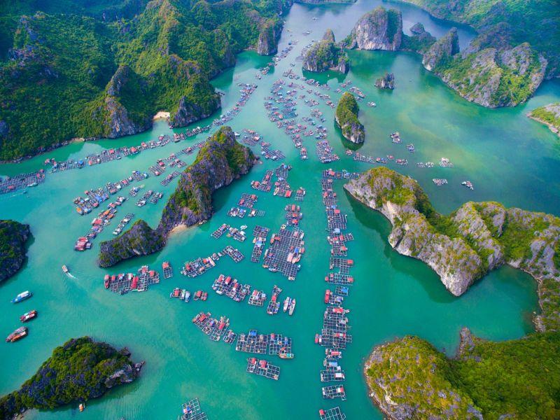 Ngẩn ngơ ngắm những vịnh biển đẹp nhất Việt Nam