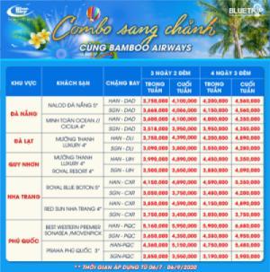 Du lịch sang chảnh - Book combo của Bluetrip cùng Bamboo Airways