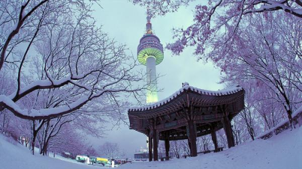 SEOUL -  LOTTE WORLD – TRƯỢT TUYẾT ELYSIAN
