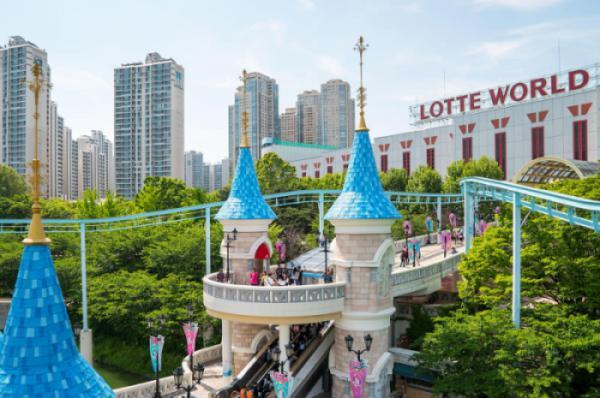 SEOUL -  LOTTE WORLD/AQUARIUM/OBSERVATORY - ELYSIAN SKY