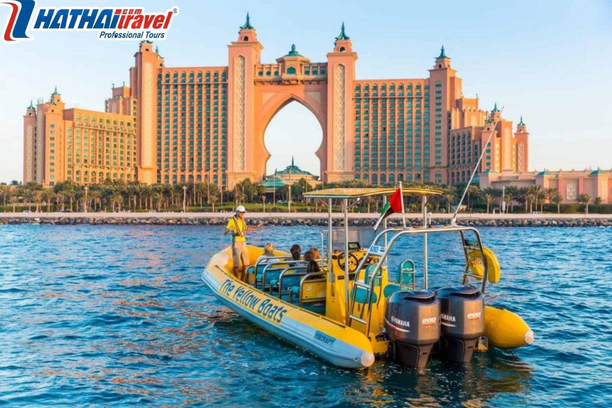 Vịnh Dubai Water Abra