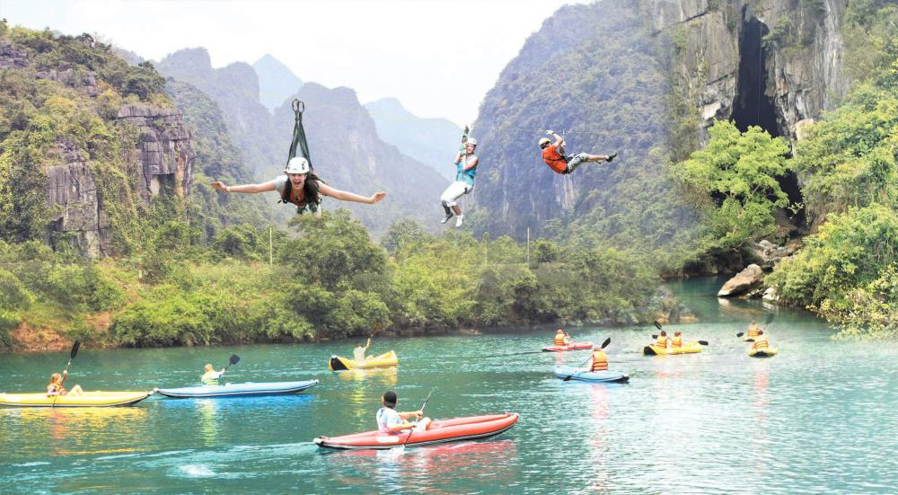 Quảng Bình: Quảng Bình - Quảng Trị - Sông Chày Hang Tối,4N3Đ, bằng ôtô